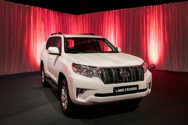Toyota выпустила более продвинутую версию внедорожника Land Cruiser