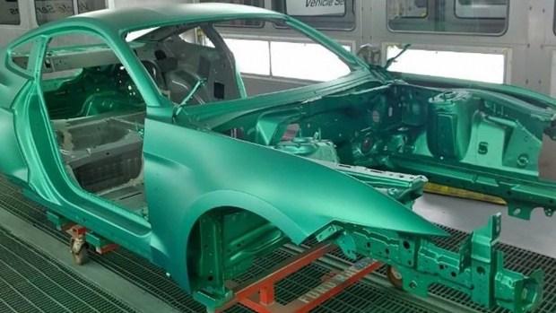 Первый Ford Mustang Shelby GT500 посвятили прототипу 1968 года