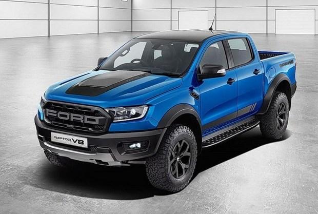 Ford оснастит пикап Ranger пятилитровым V8 от Mustang
