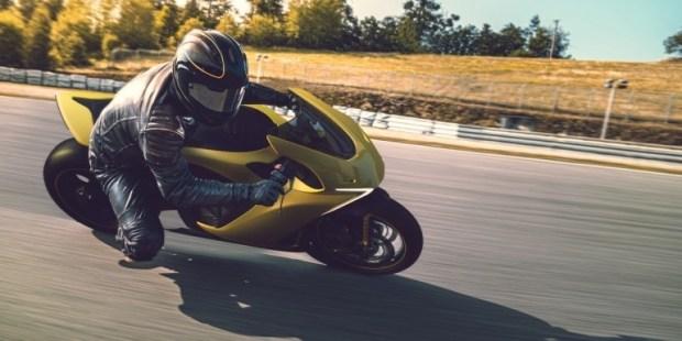 В Лас-Вегасе представили электромотоцикл Damon Hypersport