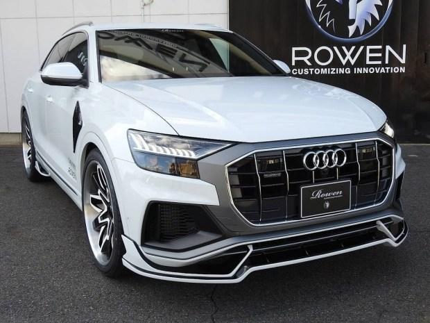 В Токио показали тюнингованный Audi Q8