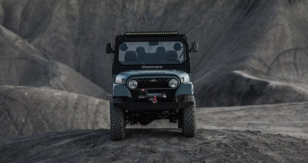 Был Jeep, стала Toyota: вездеход Mahindra Roxor поменял дизайн