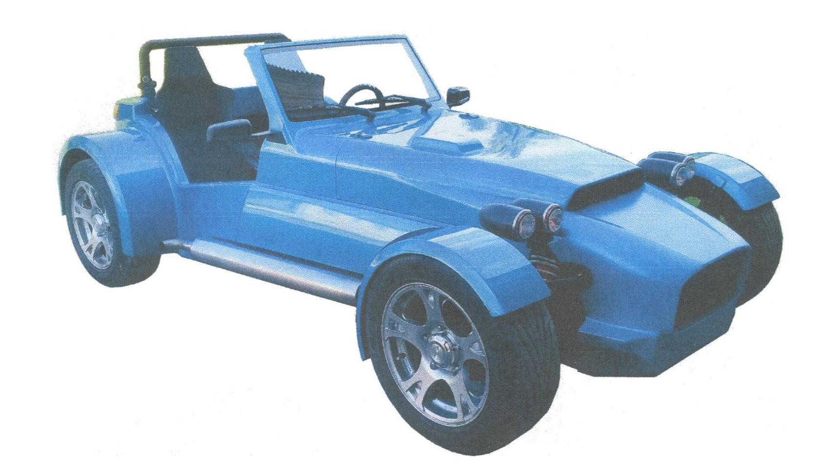Самодельный Lotus Seven запатентован в России