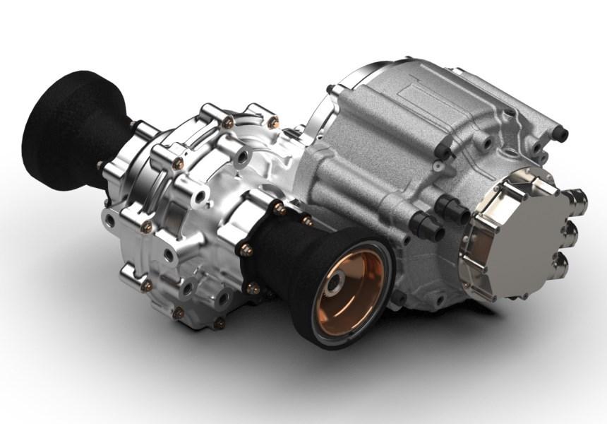 Xtrac представила трансмиссию для ралли-кросса