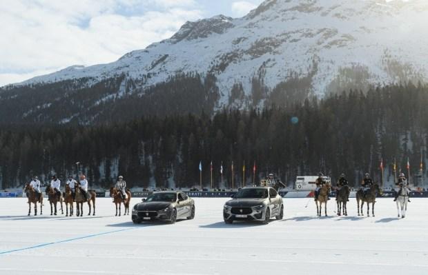 Maserati провела премьеру новой спецсерии Levante Royale на турнире по снежному поло Snow Polo World Cup в Санкт-Морице