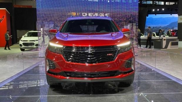 Chevrolet обновил свой самый популярный кроссовер