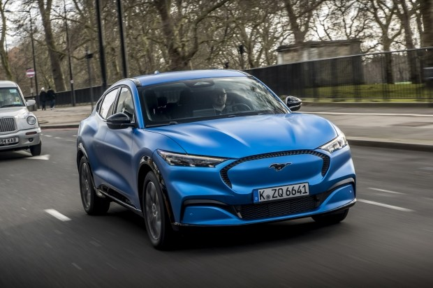 Ford Mustang Mach-E для Европы: ждем в Украине
