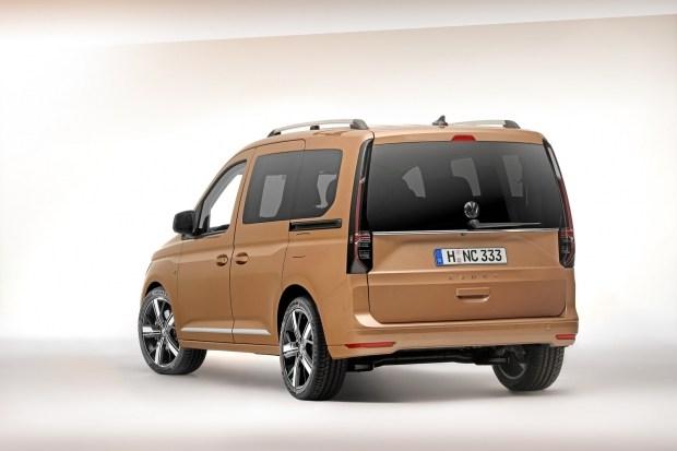 В сети рассекретили новый Volkswagen Caddy