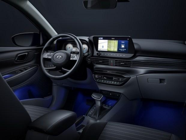 Hyundai показала первое фото интерьера i20 третьего поколения