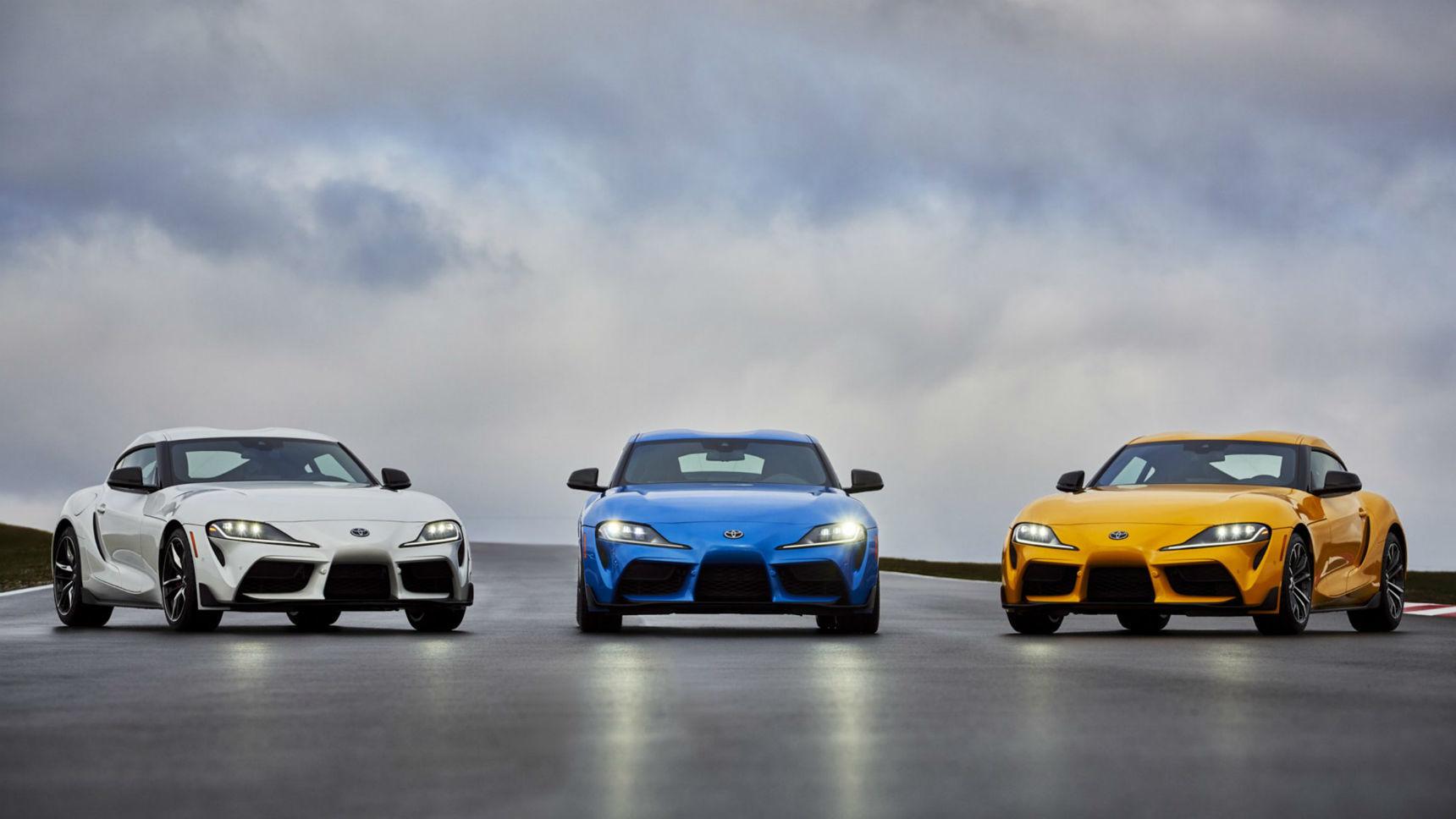 Toyota прибавила мощности Supra