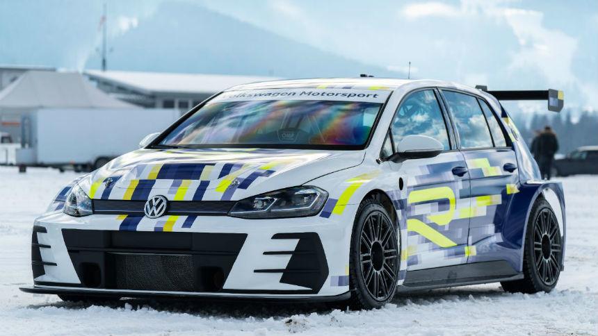 Volkswagen покажет возможности нового Golf в гонке на льду