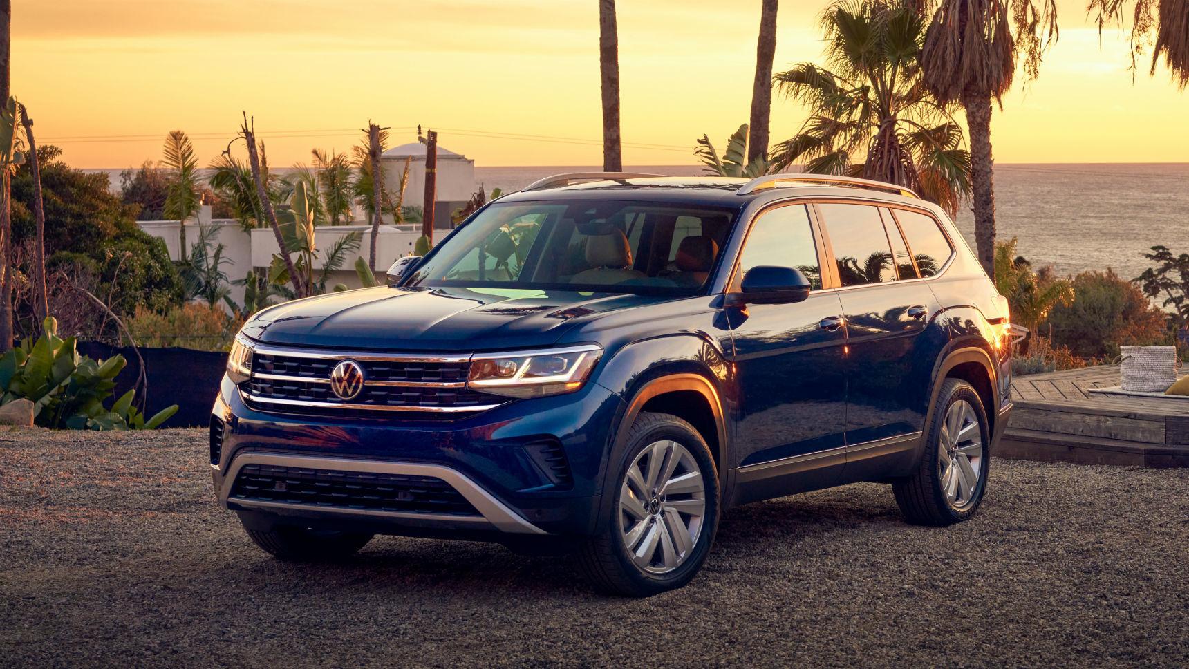 Рестайлинговый Volkswagen Teramont получил подтяжку лица
