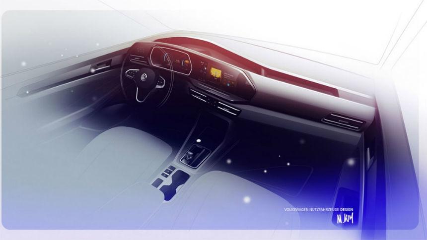 Новый Volkswagen Caddy получит премиум-опции