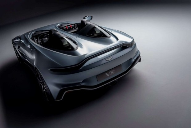 Aston Martin презентовал лимитированный Speedster V12
