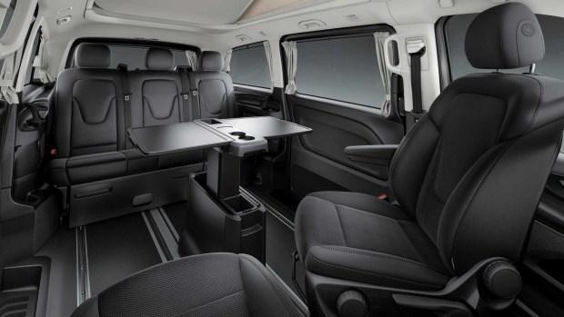 Mercedes-Benz для путешествий обзавелся пневмоподвеской и мощным мотором