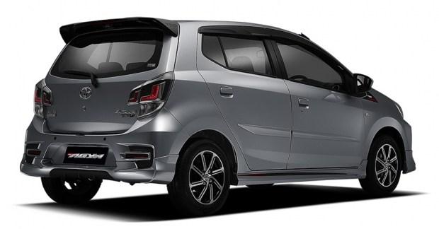 Городской хэтчбек Toyota Agya обновился