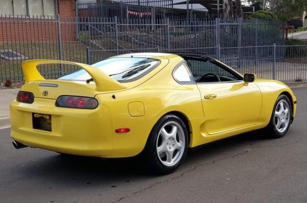 Очень редкая модификация Toyota Supra выставлена на продажу
