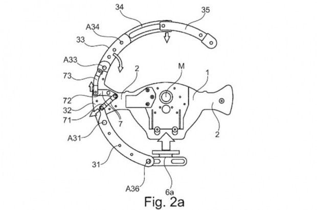 Руль «трансформер»: интересный патент от BMW