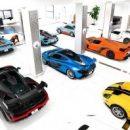 Фото и видео самой впечатляющей коллекции суперкаров и ретро-авто