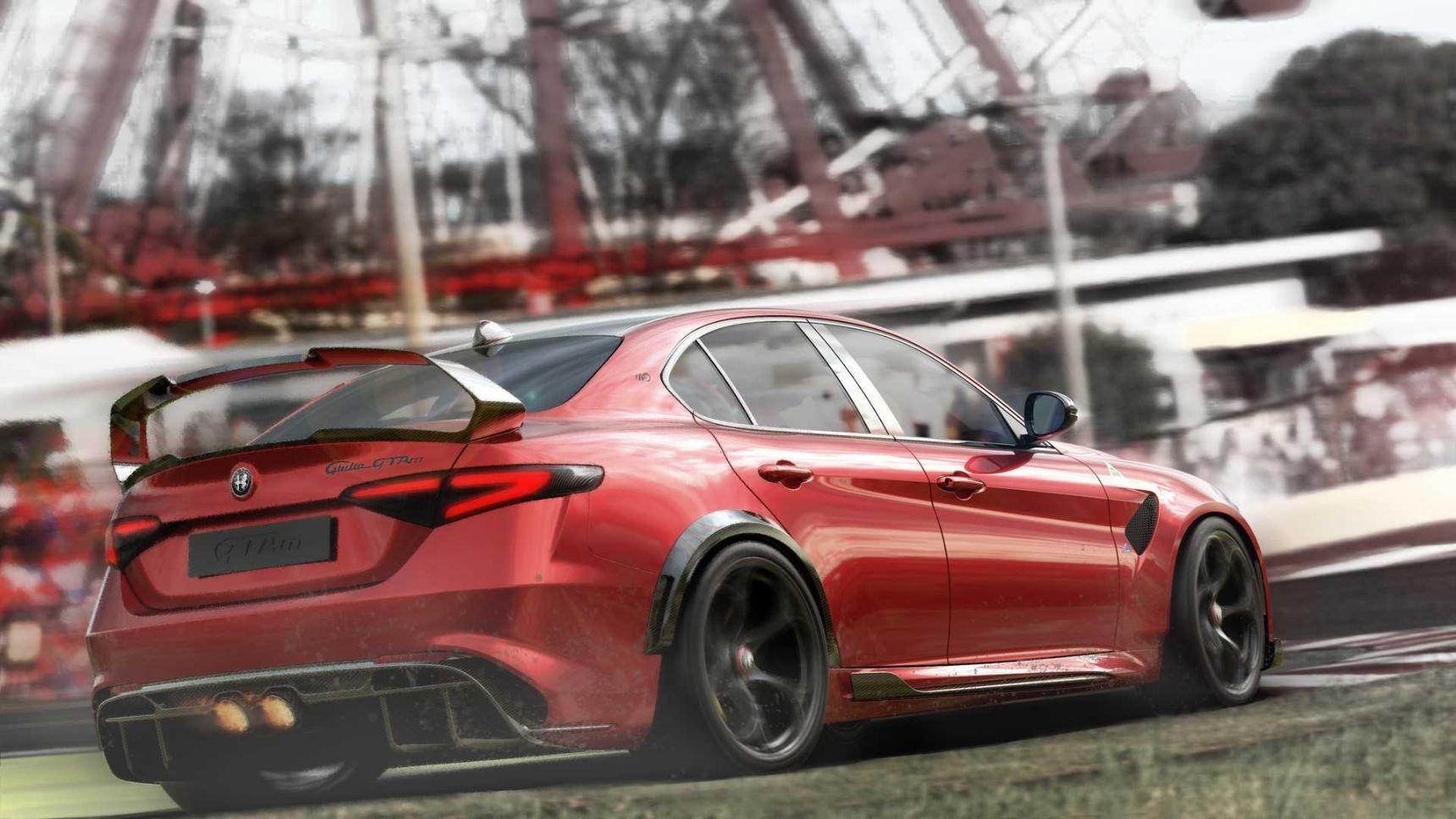 Alfa Romeo представила обегченный хардкорный седан Giulia GTA
