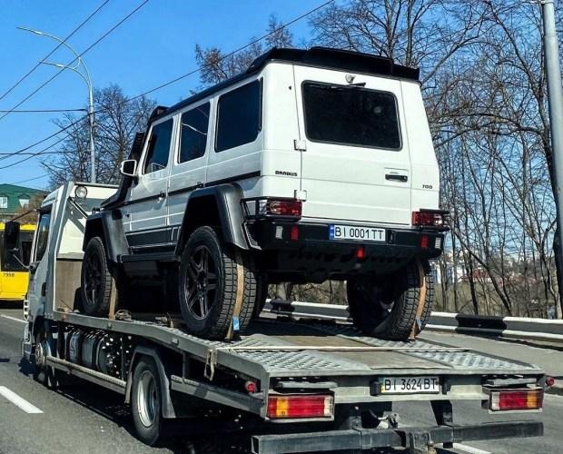 Brabus в квадрате: в Украине заметили экстремальный «Гелик»