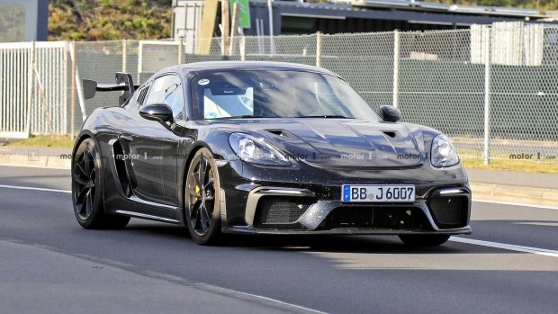 Cayman покажет «зубы»: версия RS для Porsche 718