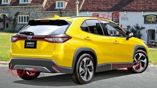 Три цилиндра и полный привод: новый SUV от Toyota