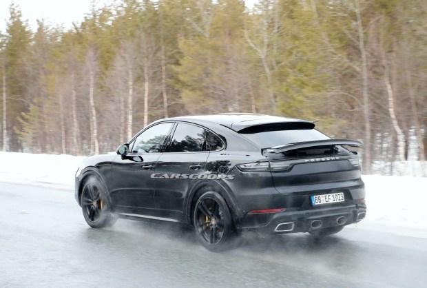 «Спортивный» Cayenne: подробности новой версии кросс-купе