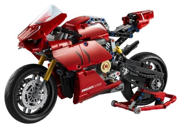 Конструктор для взрослых: Ducati Panigale V4 R от LEGO (видео)