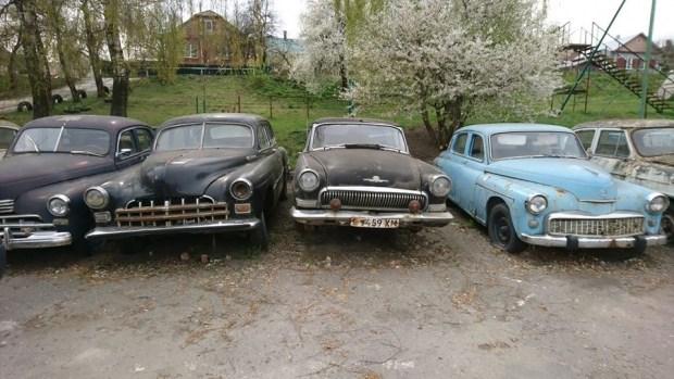 Забытое прошлое: кладбище ретро автомобилей в Украине