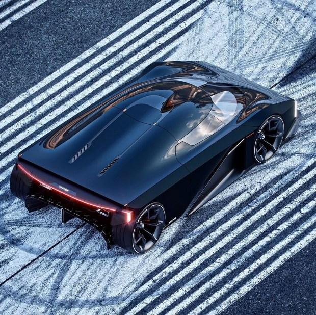 Вперед в прошлое: Koenigsegg представил невероятный суперкар в стиле 70-х