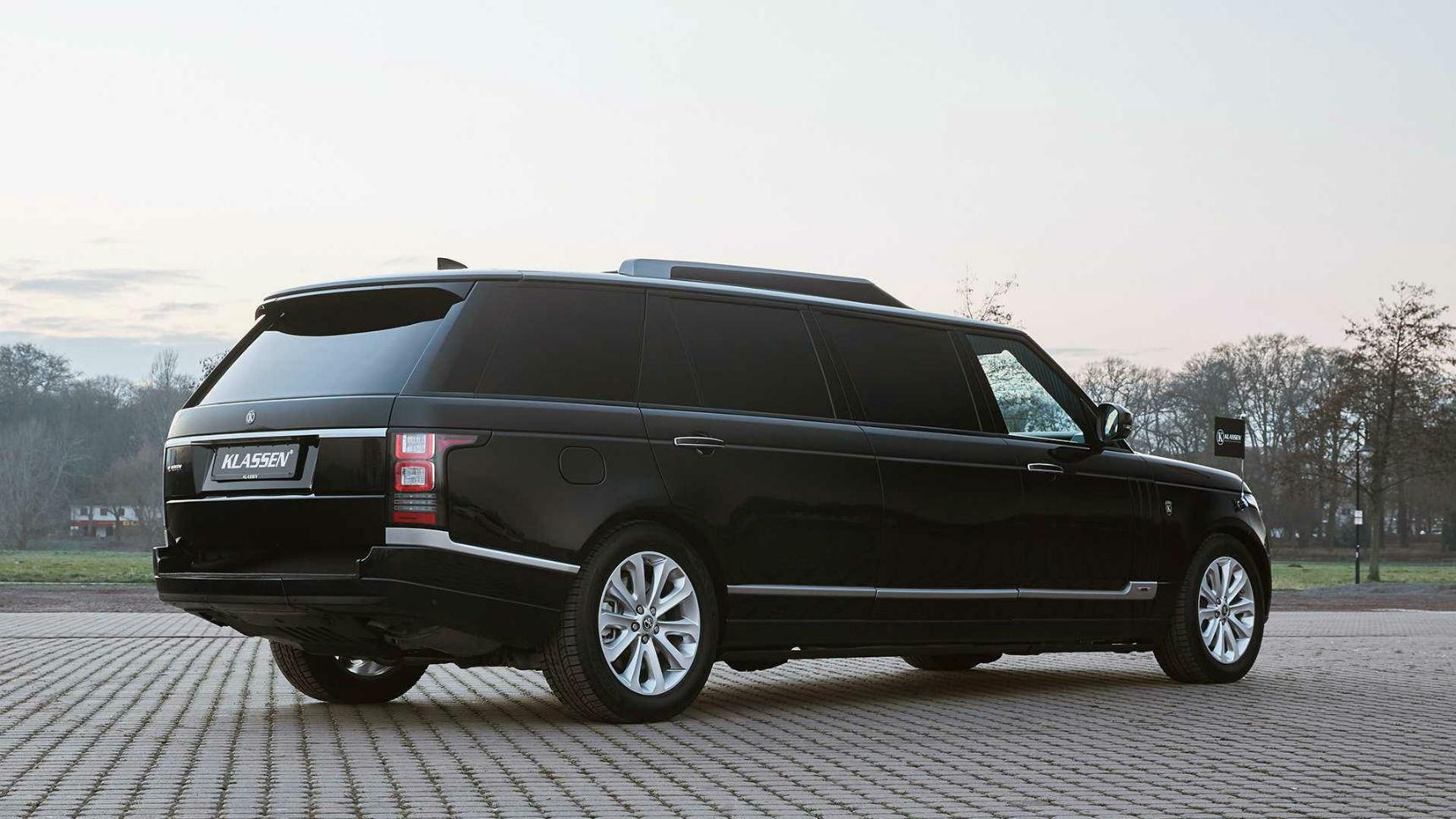 Из Range Rover сделали бронированный бункер-лимузин