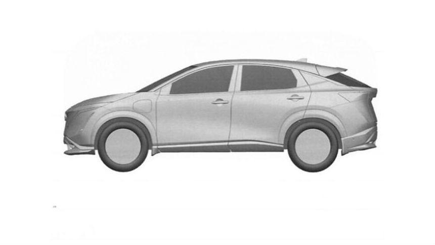 Nissan запатентовал электрокросс для России