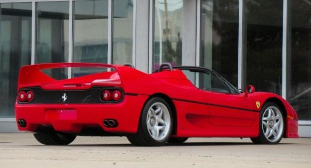 На продажу выставлен дебютный Ferrari F50