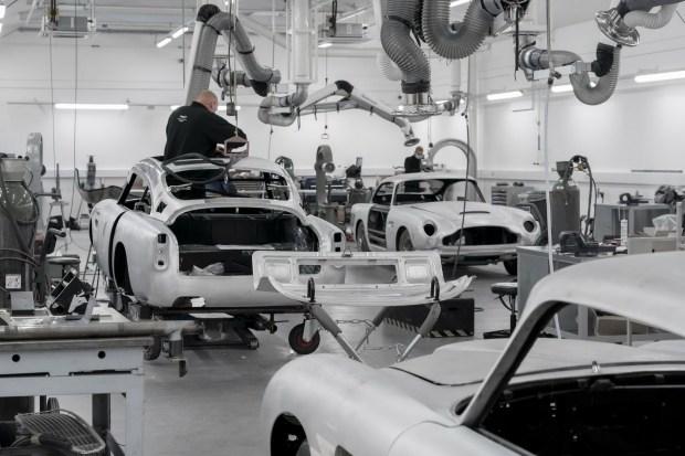 Авто для шпиона: Aston Martin возродил выпуск DB5