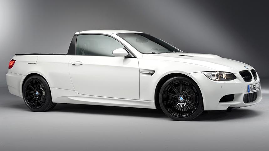 В Германии засекли странный пикап BMW