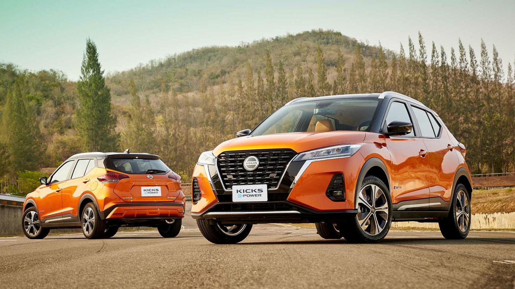 Раскрыты подробности об электро-кроссе Nissan