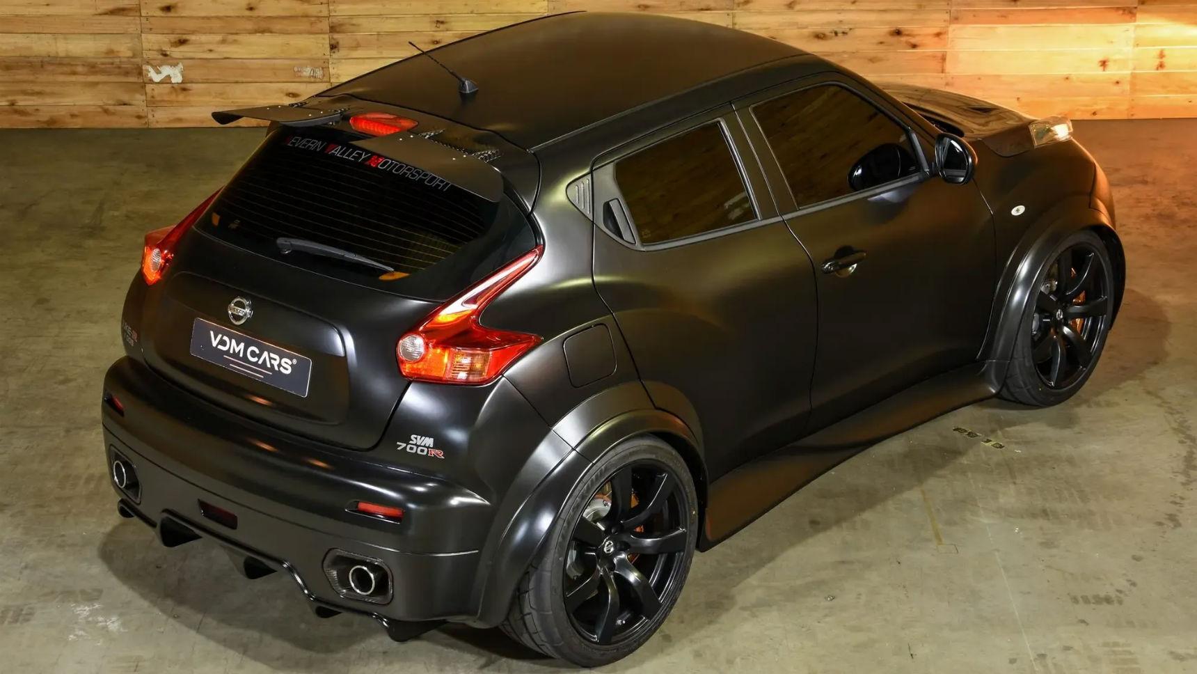 Цифра дня: стоимость эксклюзивного 700-сильного Nissan Juke