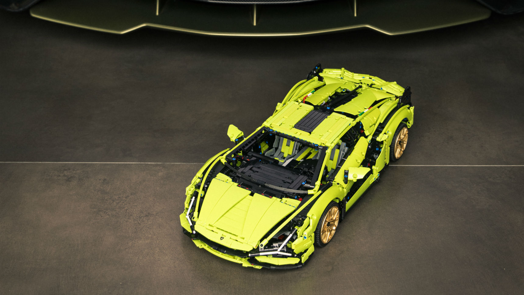 Lamborghini представил эксклюзивный конструктор