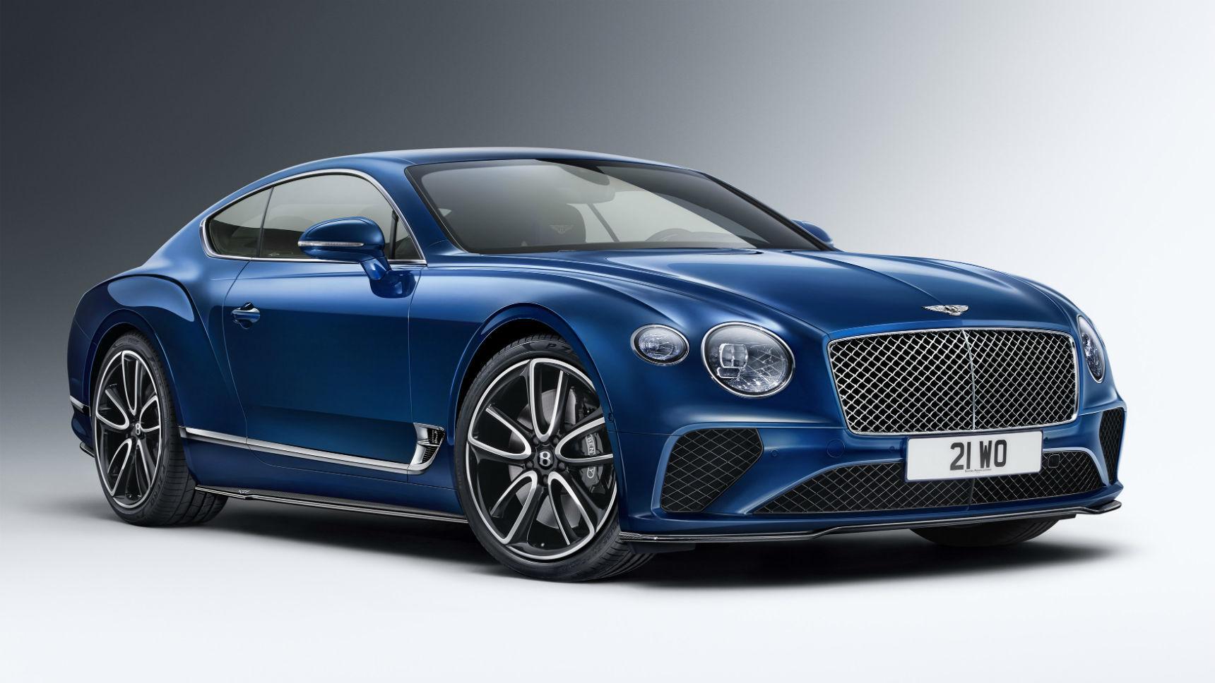 Bentley добавил Bentayga и Continental GT стильный обвес