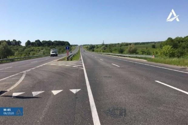 На Черкасчине отремонтировано 10 км дороги Киев-Одесса
