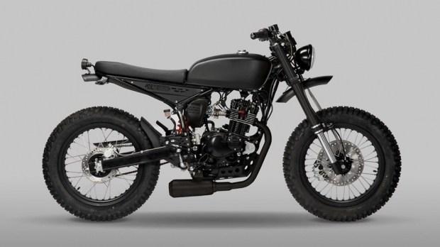Представлен мотоцикл Mutt Motorcycles Razorback 125