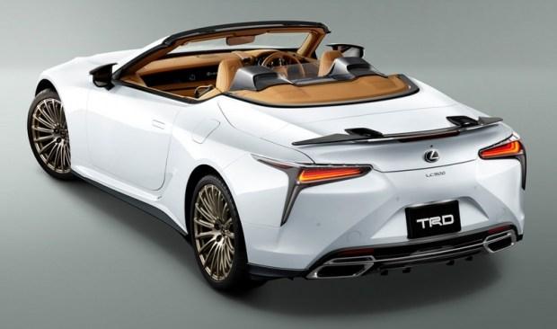 Lexus LC 500 в исполнении TRD