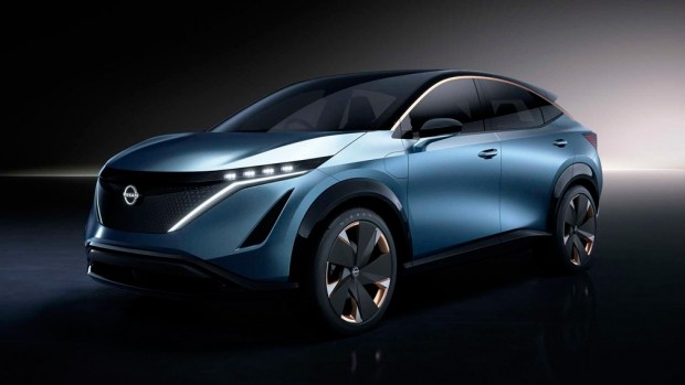 Дебют нового кроссовера Nissan Ariya состоится в июле