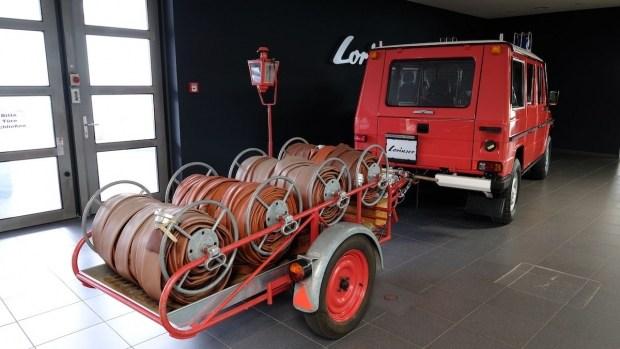Не простой «квадрат»: продается пожарный «Гелик»