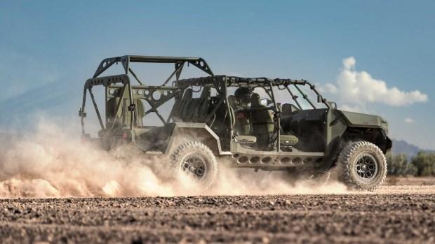GM построит новый внедорожник для армии США