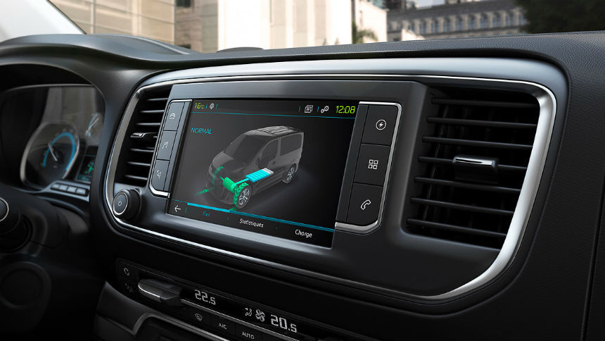Peugeot электрифицировал пассажирский Traveller