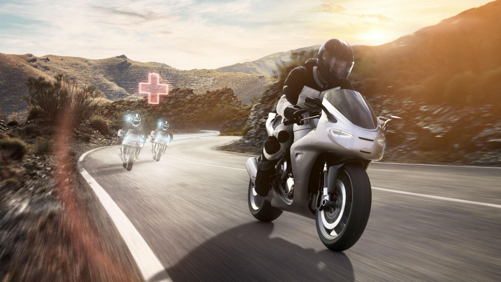 Bosch разработал «цифрового ангела-хранителя» для мотоциклистов