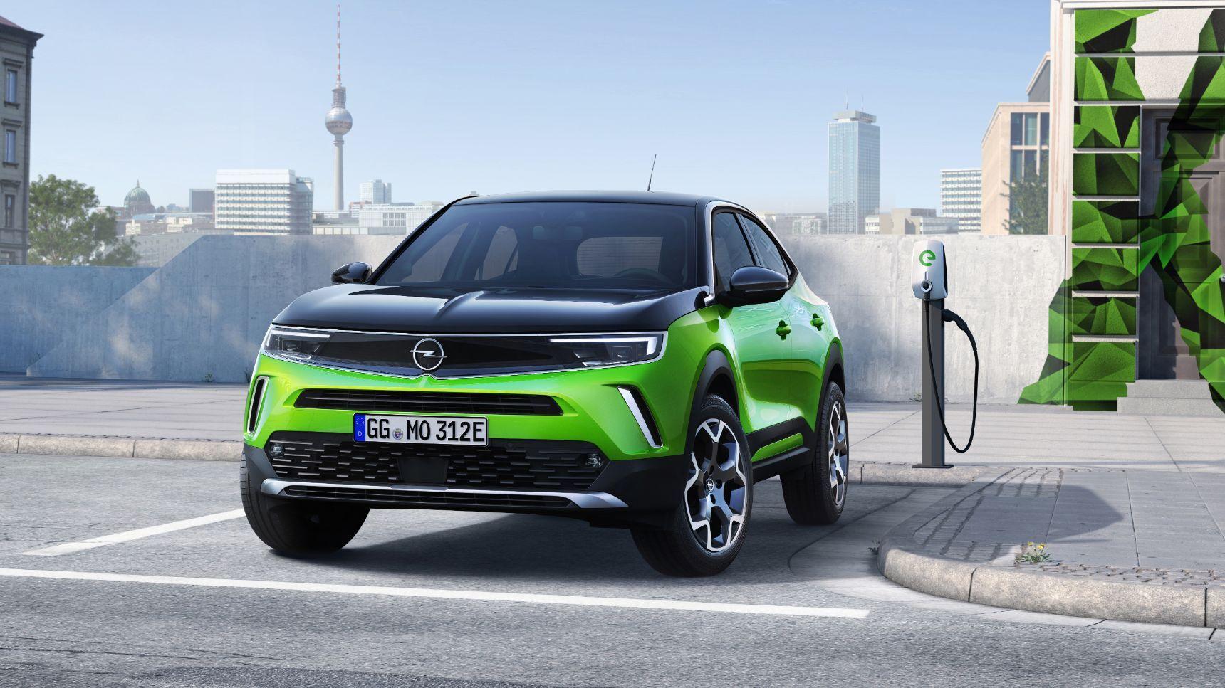 Opel представил новый кроссовер Mokka