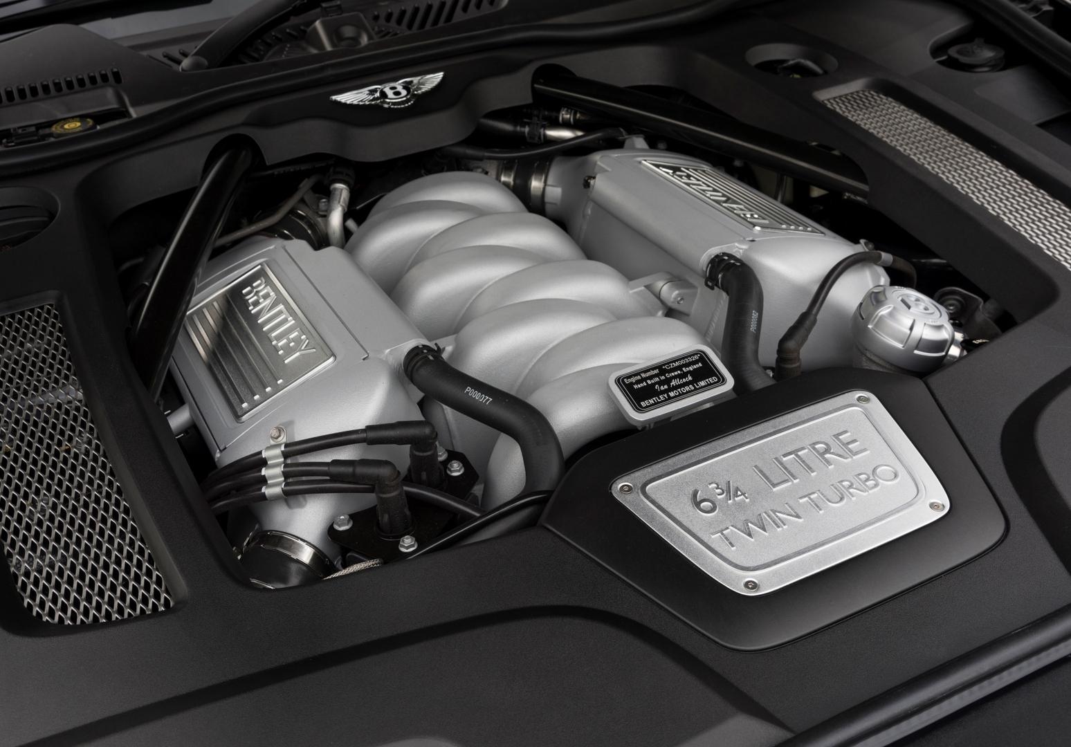 Bentley выпустил последний мотор V8 серии L